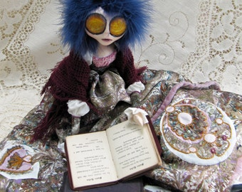 The Storyteller - Fantasy Art Doll