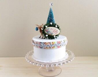Holiday Scenic Gift Box/Keepsake Box~Be jolly~