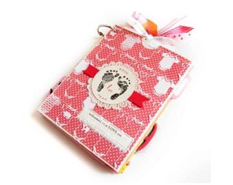 Your 1st Year Baby Girl Mini Pocket Album