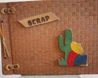 Vintage Wooden Scrapbook