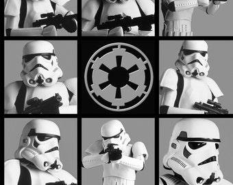 Star Wars Storm Troopers Fabric By The Yard