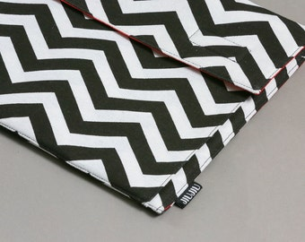 Laptop case, for Macbook 11inch, 13inch and 15inch. also for other laptop models. Canvas/Padded/Chevron.