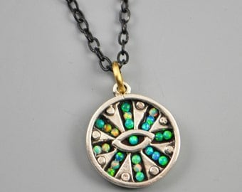 Mind's Eye Mosaic Necklace