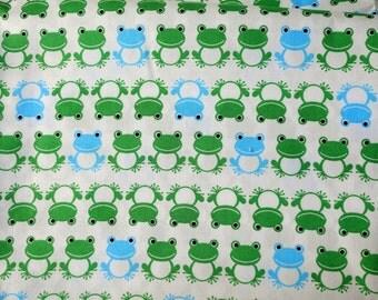 Japanese fabric Frog Half meter