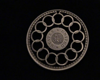 Pure Copper Replica of the Fugio Cent - America's first coin designed by Ben Franklin