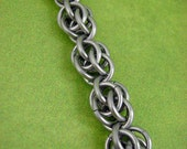 """Blackmaille """"Plethora"""" Chainmaille Bracelet"""