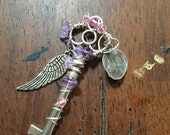 Birthstone Key / Prophetic Art / Kingdom Key / Personalized