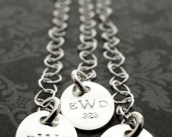 Sterling Silver Necklace Extension Chain - Three Length Options - EWD Extras and Add-ons