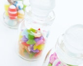 Handmade Miniature Food & Candy Polymer Clay Supply for Dollhouse 3 pieces