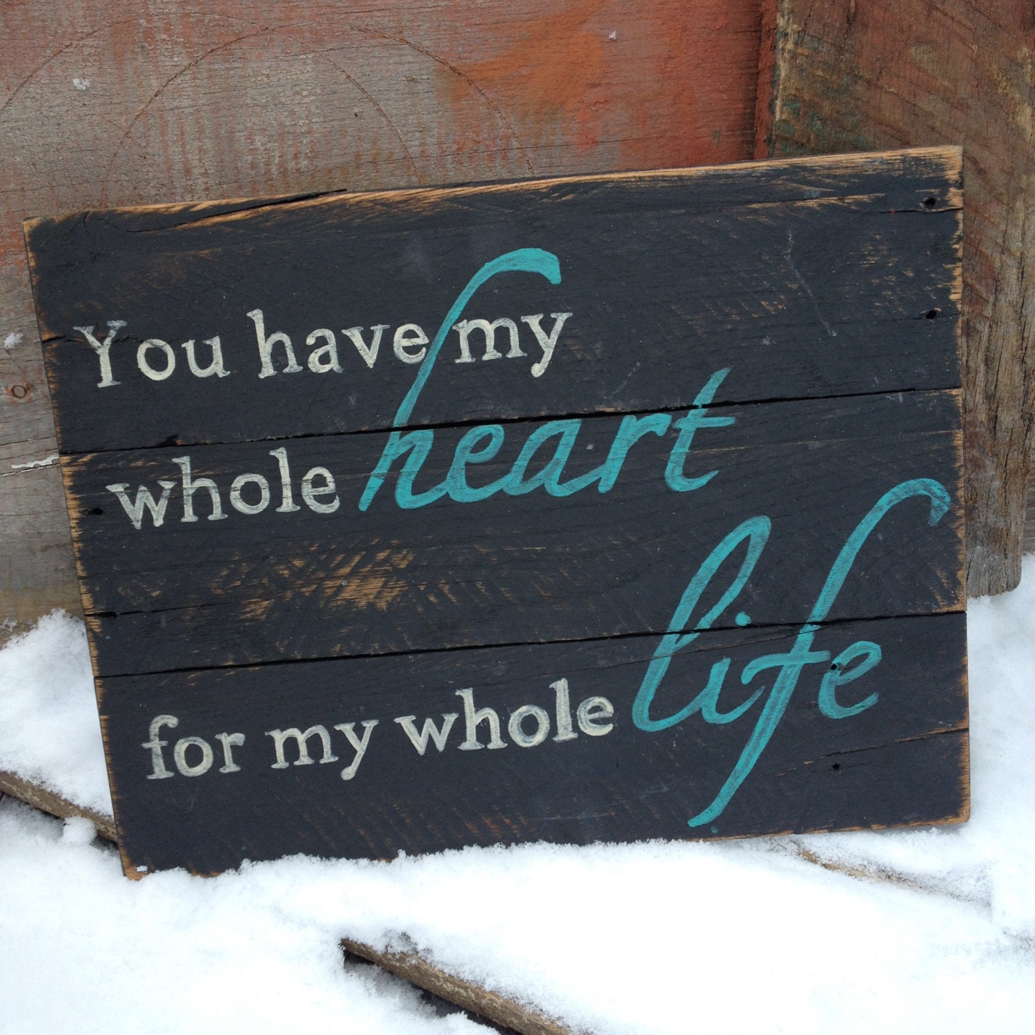 rustic painted pallet sign black sign sign with quote zoom