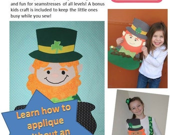 Lucky Leprechaun Wall Hanging and Bonus Kids' Craft