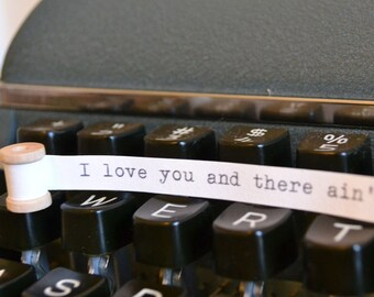 Tiny Message Spool - I love you and there ain't nothing you can do about it.