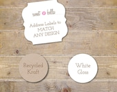 Address Labels . Return Address Labels . Personalized Address Labels - For Any Design