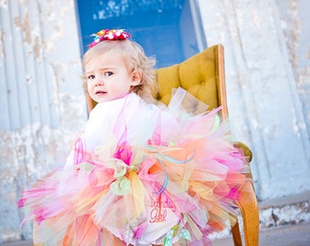 Birthday Bash, Birthday Tutu, Party Tutu, Photo Shoots, Gift, Dress Up Size to 6yrs