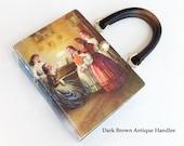 Little Women Recycled Book Purse - Little Women Book Cover Handbag - Little Women Gift