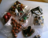 Large Lot Bead Supplies Beads and Jewelry Making Pieces Lot