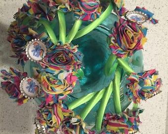 Rainbow dash headbands party favors
