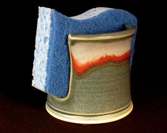 Sponge Holder - Sink Sponge Keeper - Blue SpongeHolder - SpongeKeeper - Blue Sponge Keeper - Sink Sponge Holder - Blue SpongeHolder -InStock