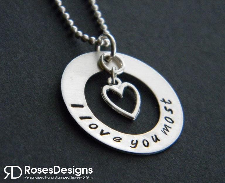 I Love You More Necklaces - Walmart.com