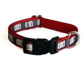 """Camera Small Dog Collar / 1/2"""" Tiny Dog Collar"""