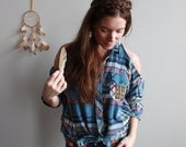 Multicolored Flannel Plai...
