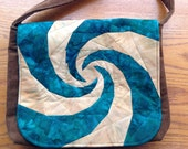 Spiral Messenger Bag