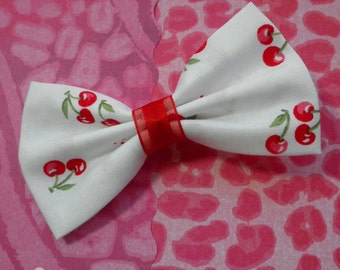 Kawaii Cherries Hair Bow
