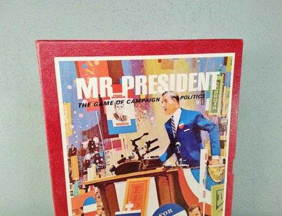Vintage mr President Board
