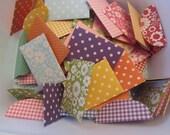 50 Assorted Bright Mini Envelopes Wedding Guest Book Business Card Envelopes Gift Card Envelopes