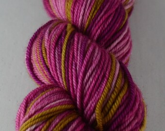 City Girl - Worsted - Hand-dyed self striping worsted yarn