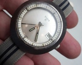Rare Vintage Elgin Semi Mystery Dial Watch - Stainless.