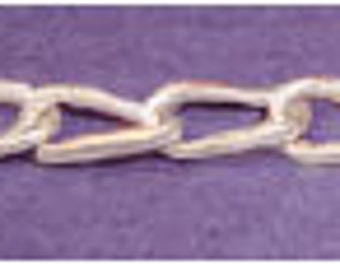 Sterling Silver ~ Bracelet Extension link ~ Chain Design ~ settings / Mountings ~ to be ordered ~ #169917 ~ FDK