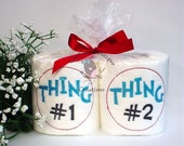 Toilet Paper Sayings Embroider Gift Set
