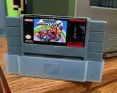 Mario Kart SNES Super Nintendo Parody, Energy Citrus Scented by DigitalSoaps, Retro Video Game Geek Gift