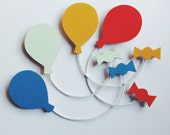 Balloon Brooch - 4 colours available