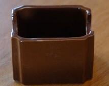 Vintage HALL china brown restaurant ware diner sugar tea caddy 716 kitchenware breakfast sugar bowl