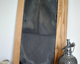Salvaged Roof Slate Chalkboard