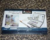 NEW - Artist Painting Set --- Royal & Langnickel Acrylic Travel Easy Set