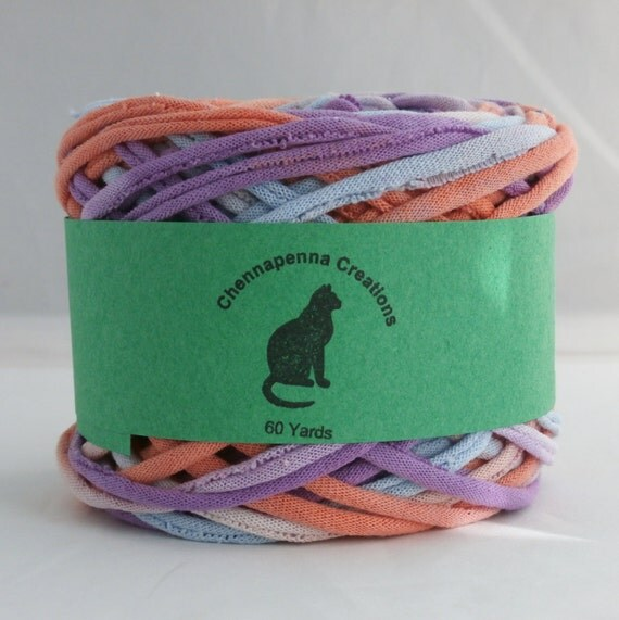 T shirt yarn t shirt yarn hand dyed 60 yards lilac for T shirt printing st charles mo