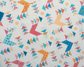 Paper Pattern for Shangri La Quilt