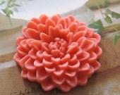 4 pcs - 35mm - Large chrysanthemum cabochon - 4 pcs (CA819-C2)