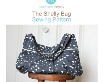 Sewing Pattern for the Shelly Bag.  PDF Instant Download