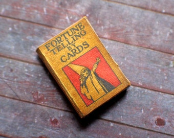 Miniature Book --- Fortune Telling by Cards