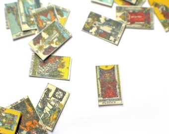 Miniature Rider-Waite Tarot Cards