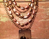 Tin Type Necklace II