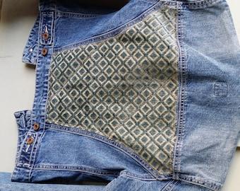 Embellished denim Gap XS stretch jacket