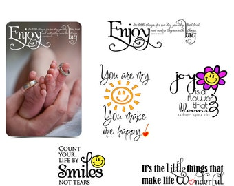 girls word art quotes photo overlays for by ashedesign on etsy