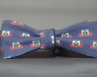 Haitian Flag  Bow tie