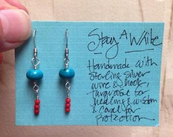 Stay Awhile earrings