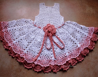 Crochet Dress Pattern No 97